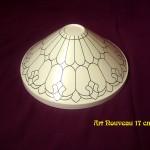 Art Nouveau 17 cm