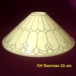 Art Nouveau 25 cm