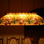 Dragonfly ovality lamp